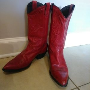 ✨🌹Red Cowboy Boots 🌹✨